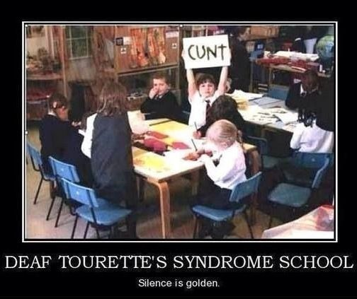 Quotes About Love: Deaf Tourette's Syndrome School. Science Is Golden.