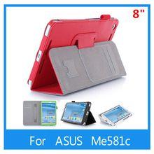 Для Asus 8 Me581c Me581cl me581 8 дюймов планшет роскошные карты карманные ремешок кожаный чехол + подарок стилус