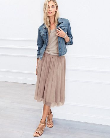 Prima Tulle Skirt