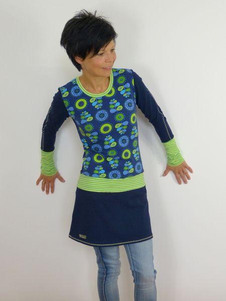 Jerseykleid Vanessa Nachtblau von Libell auf DaWanda.com