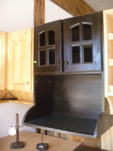 Argen pino alacena porta microondas 0 60 de pino 1ra calidad - Muebles para microondas ...