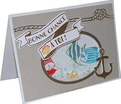 seaside shore stamp set | oval a été découpé avec les nouveaux framelits pyramide d'ovales ...