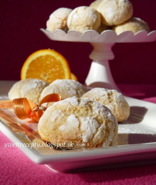 Kokosovo pomarančové crinkles (fotorecept) - obrázok 7