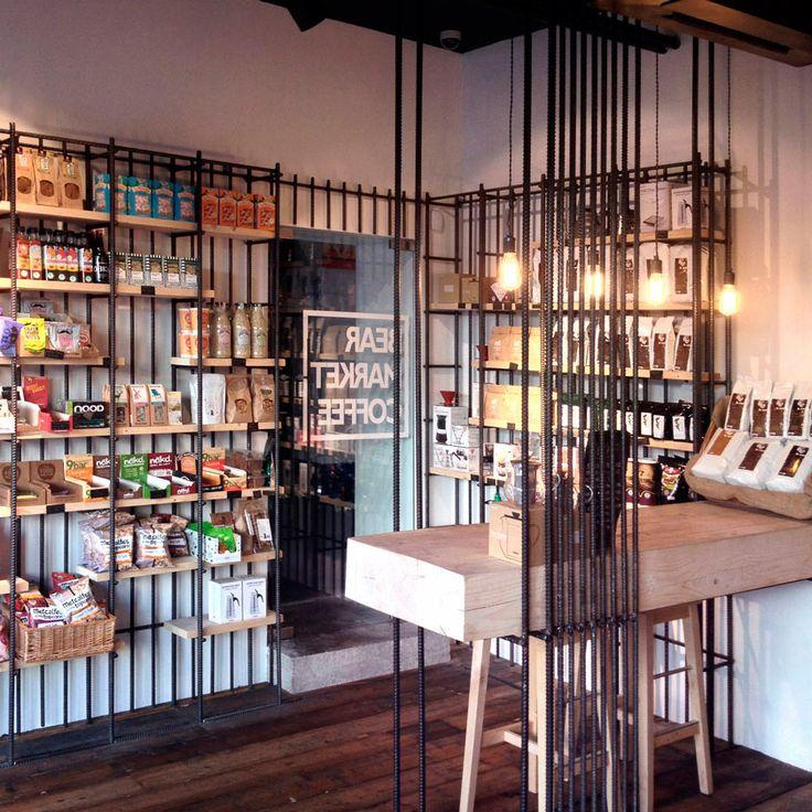 VAV Architectsha diseñado un pequeño coffe shop en Dublin, Brear Market Coffe