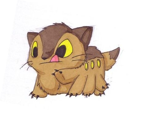 Baby Catbus by phowks. SO CUTE! I don't know whether to put this in cats or geek so I chose geek!