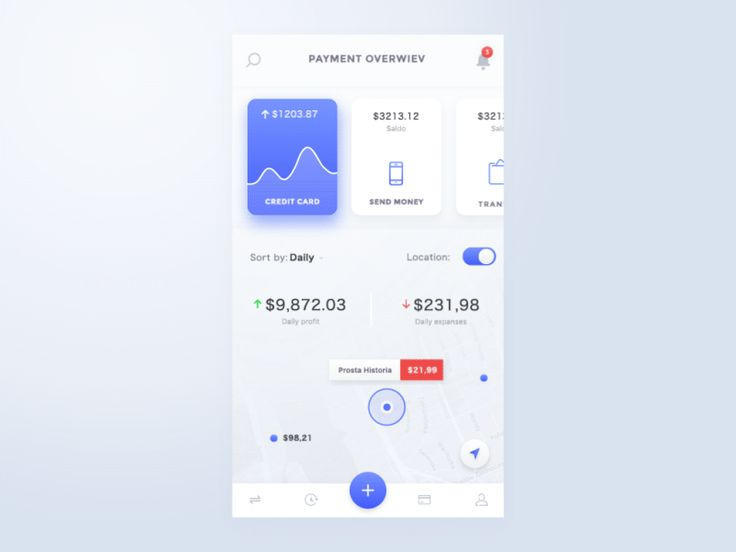 Another screen of conceptual work of Finance/Banking mobile app that allows you to control your budgets. For a top-quality animation and real-size static screen views, check out the attachment.  10...