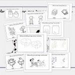 Recursos para el aula: Fichas de infantil de conceptos contrarios: Muchos-Pocos