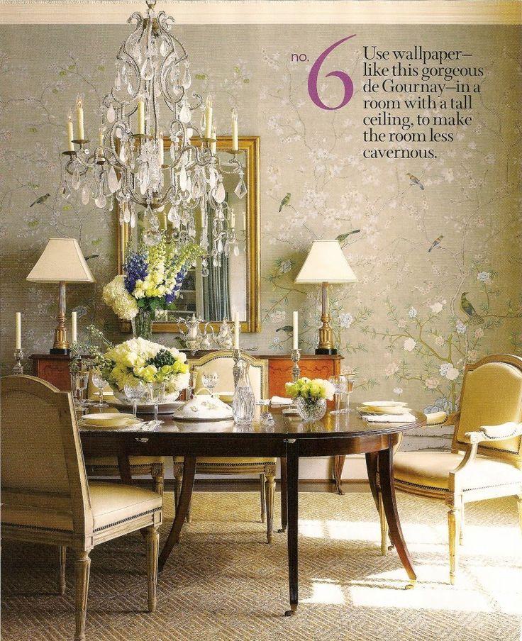 Dining Room Wallpaper Dining Pinterest