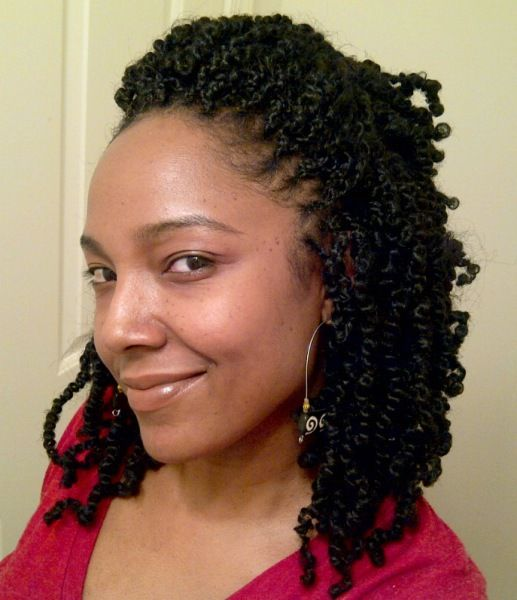 Nice idea for a new 'do. Cute and work appropriate. (Hair by Fatty of Fatty's Hair Braiding)