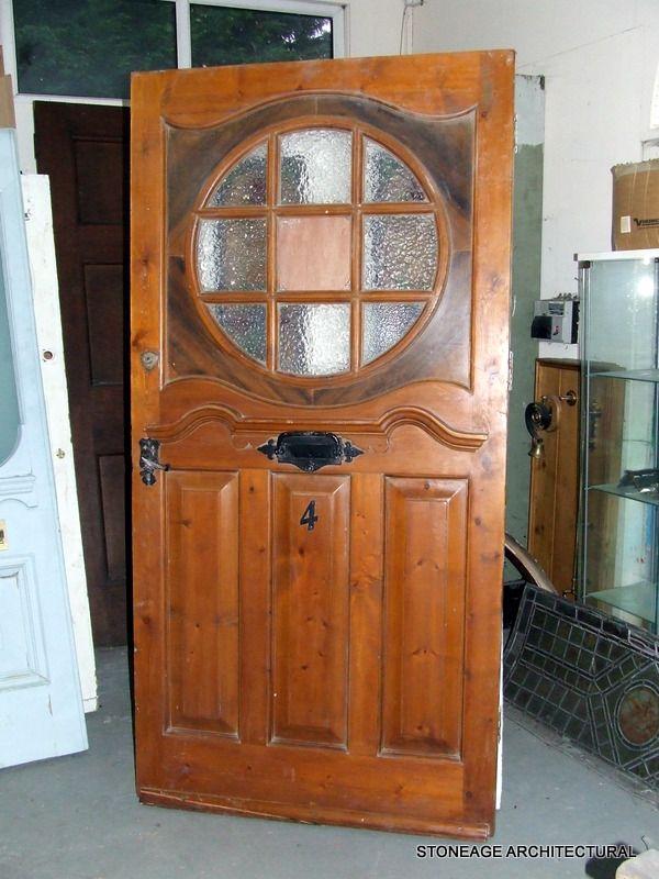 Ordinary Reclaimed Front Door Part - 12: Reclaimed Edwardian External Front Door FD568 Stoneage Reclamation & Reclaimed Front Door | Home Design Inspirations Pezcame.Com
