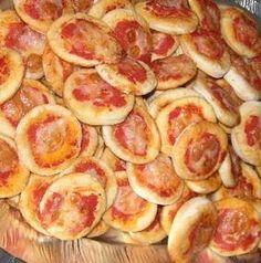 Pizzette al microonde - I sapori di Sara