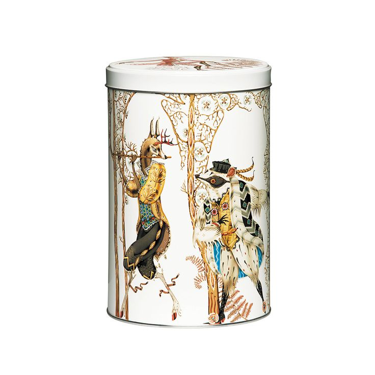 Discover the Iittala Tanssi Tin Box - White at Amara