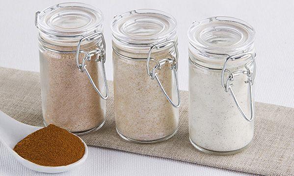 Zucchero aromatizzato alle tre spezie