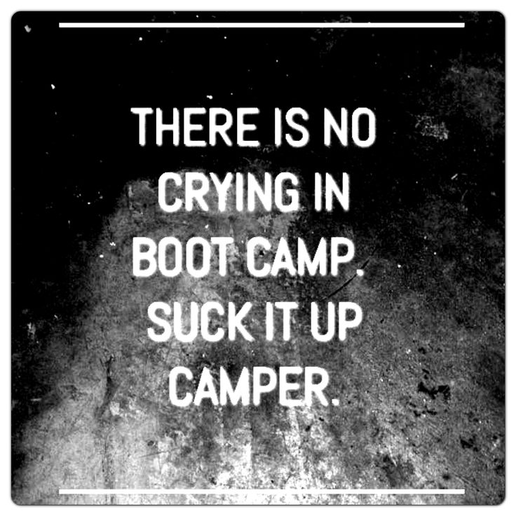 OMGGGGG... this is how I felt today at my very first boot camp session! I survived though ;)