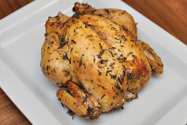 Herb Roasted Whole Chicken | Recipes - Meats | Pinterest