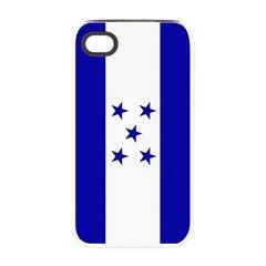 Bandera De Honduras Iphone 4/4s Tough Case  #Honduras #Bandera