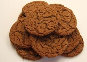 Drop cookies are so simple to make. Just cream your butter and sugars. Mix your dry ingredients together and add to the butter mixture. Stir in any other ingredients and drop the dough on a cookie sheet. Bake and eat. I hope you enjoy some of the world's tastiest drop cookies.: Spicy Ginger Cookies