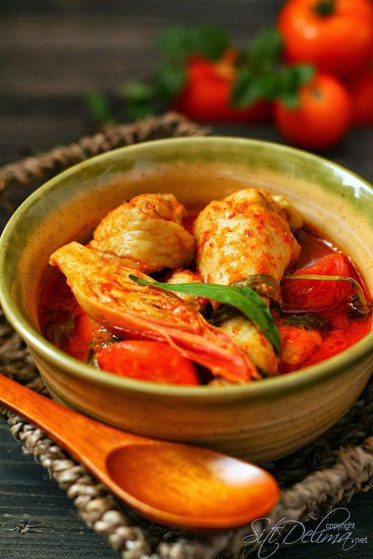 Asam Pedas Ayam Aroma Y Indonesian En