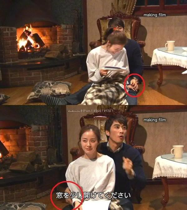 Kim Tae Hee and Song Seung Heon. Yes, I know - but I can't ...