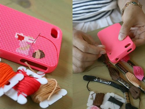 iPhone: Iphone Cases, Ideas, Craft, Crossstitch, Diy Iphone, Crosses, Cross Stitches
