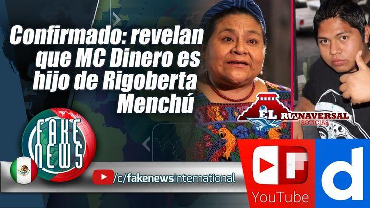 Confirmado: revelan que MC Dinero es hijo de Rigoberta Menchú