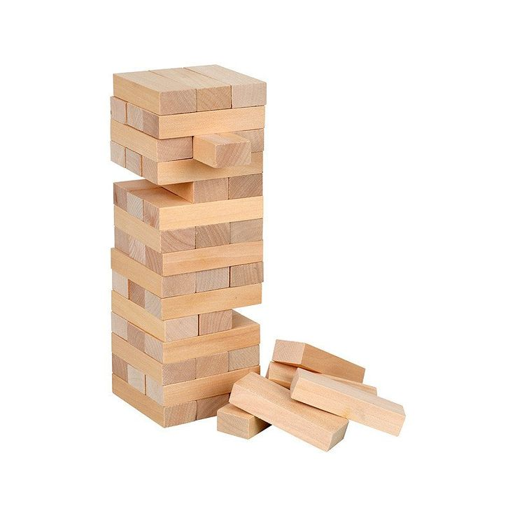 An old classic. The original timber stacking game.
