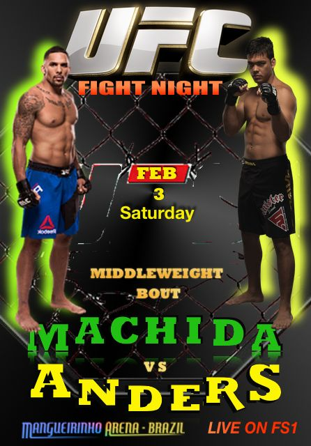 UFC FIGHT NIGHT - MACHIDA VS ANDERS