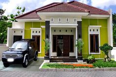 Warna Cat Depan Rumah yang Bagus | Dream home design ...