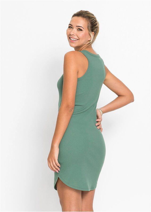 4c1d679c Sukienka shirtowa • zielony • bonprix sklep   Rzeczy do kupienia w ...