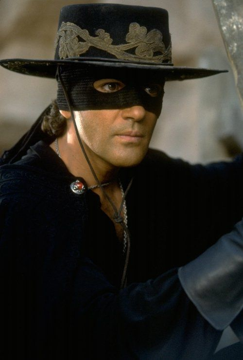 The mask of Zorro Love adventure films.