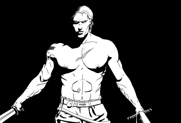 Postać do autorskiego systemu fantasy. Alex jest niestarym żołnierzem, legionistą, kapitanem swojego oddziału. Dobrym dowódcą z tendencją do postarzania si&#...