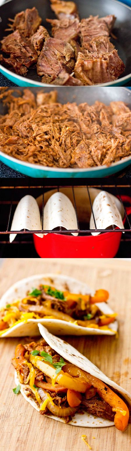 Turn Leftover Chuck Roast into Carnitas Tacos with this simple, easy and delicious recipe- or make a huge batch fresh with an inexpensive, large cut of meat.