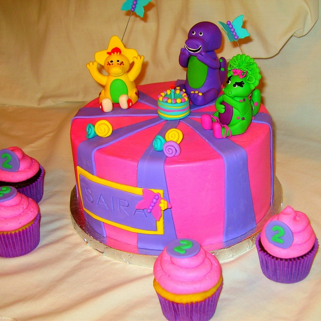 Bj S Cake Decoration Packet : Best 25+ Barney birthday cake ideas on Pinterest Barney ...