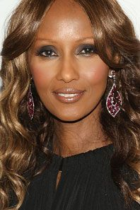Iman is the founder and CEO of Iman Cosmetics as well as a model. She is originally from Somalia.