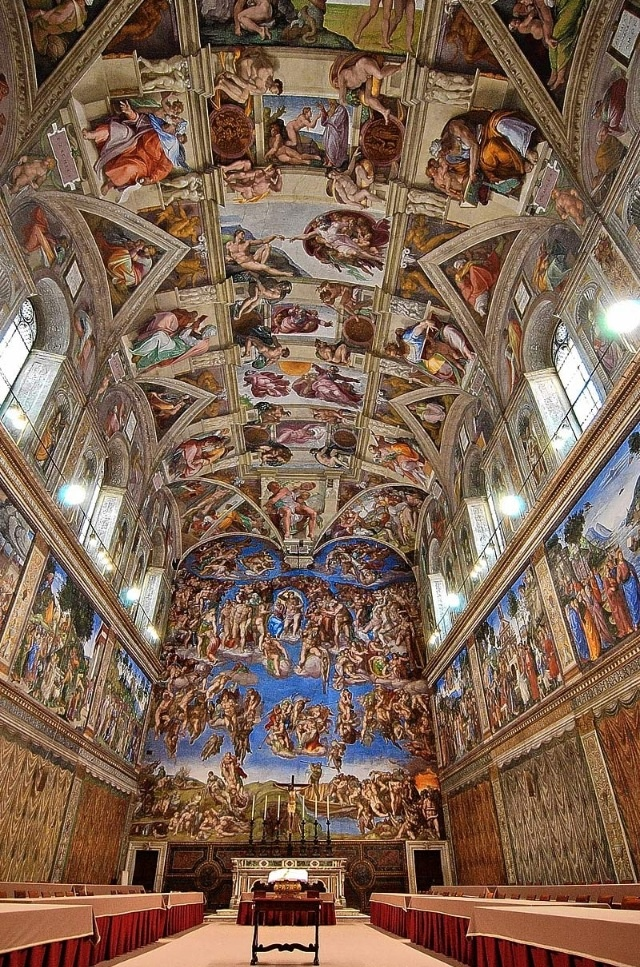 To Do: The Sistine Chapel, Italy