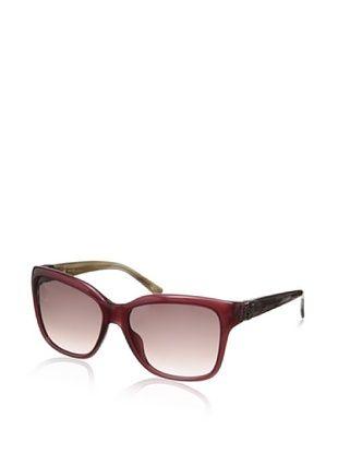 60% OFF Loewe Women's SLW723 Sunglasses, Shiny Plum