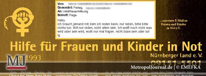 (NBG-LAND) Hilfe für Frauen und Kinder in Not Nürnberger Land e. V. - http://metropoljournal.de/?p=7929