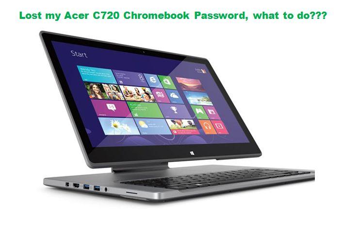 Forgot Acer C720 Chromebook Password? Top 2 Methods to Reset It   Laptop screen repair, Acer