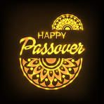 Vector illustration of a Banner for traditional jewish holiday Happy Passover.