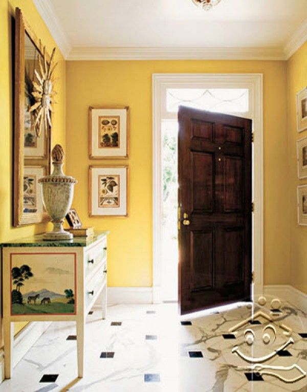 коридор маленький светло желтый дизайн фото: 19 тыс изображений найдено в Яндекс.Картинках