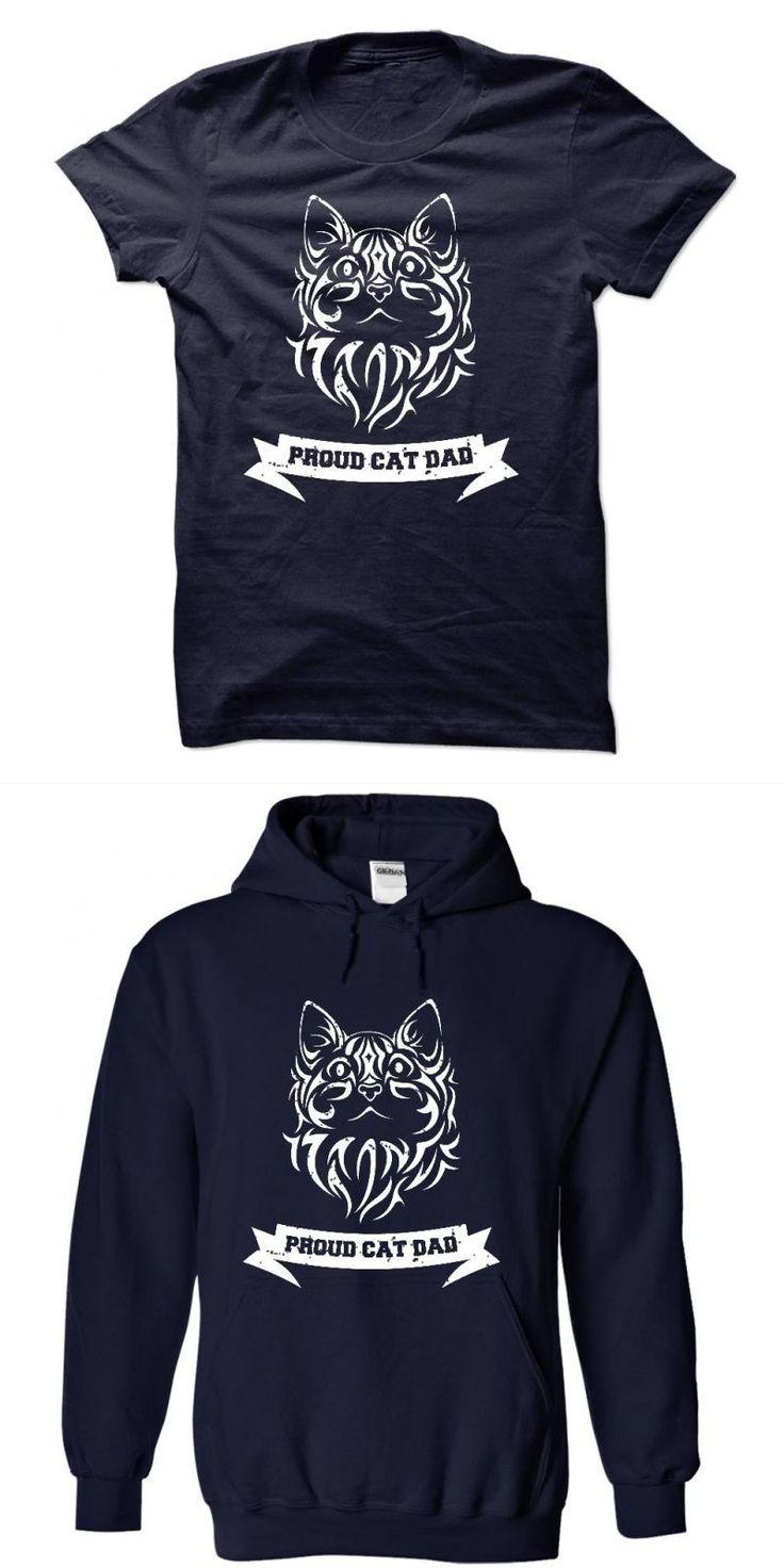 Cat Bus Shirt Proud Cat Dad Tee Shirt #3 #cat #moon #t #shirt #70s #cat #t #shirt #cat #t #shirt #jabong #relient #k #cat #shirt