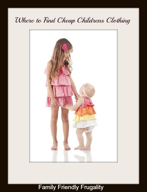 Where To Find Cheap Childrens Clothing