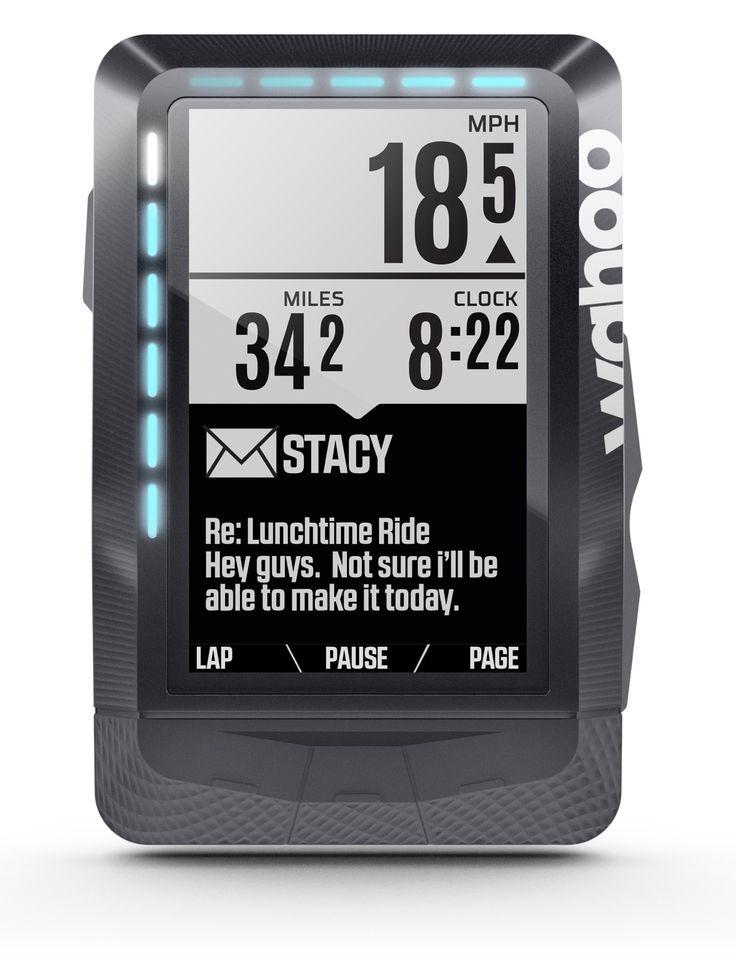 Wahoo Fitness ELEMNT - GPS Fahrrad-Computer Einfachheit und Individualität... Keine verwirrenden Bedienungsanleitungen! ELEMNT kommt mit einer kostenfreien Begleiter-App, die es Ihnen erlaubt, Ihre Datenfelder einzustellen, Profile persönlich anzupassen, Leistungen nachzuverfolgen und Fahrtdaten mühelos zu teilen.