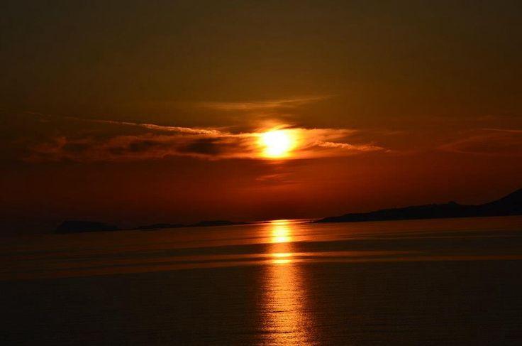 The most beautiful sunset at my island. Kasos Dodekanisa Greece!!!!