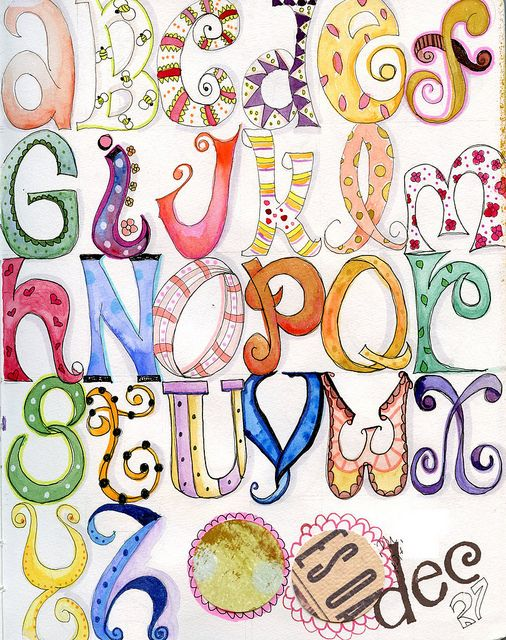 255 best images about Zentangle Alphabets on Pinterest ...