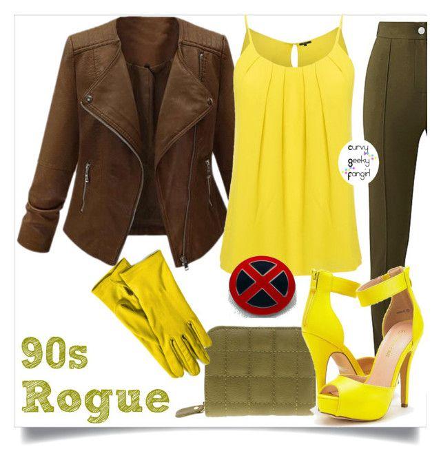 Best 25 rogue xmen costume ideas on pinterest rogue costume xmen 90s rogue by curvygeekyfangirl on polyvore solutioingenieria Gallery