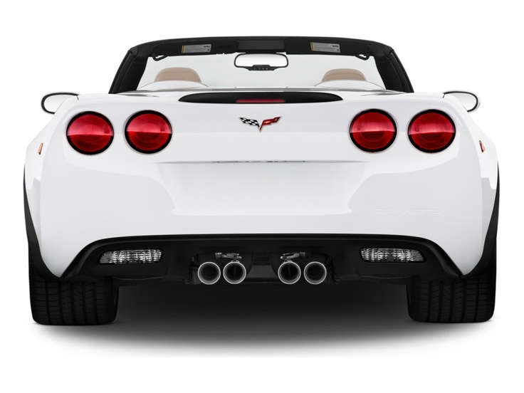 The view most people see of a vette!