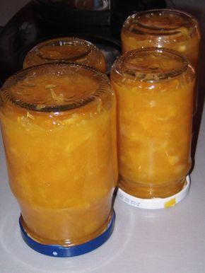 pomerančová marmeláda