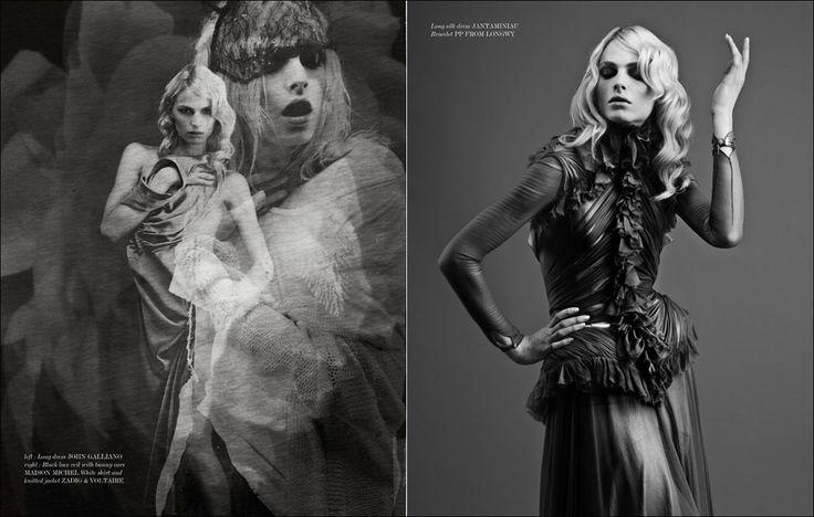 Andrej Pejic by Nicolas Guerin for VESTAL Magazine Photo