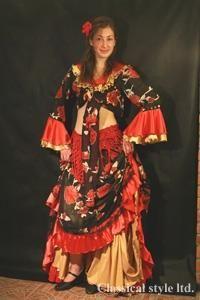 Прокат карнавальных костюмов цыганский в спб